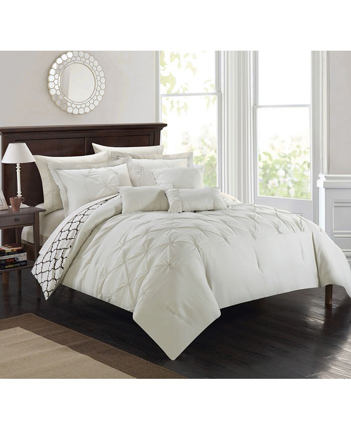 Chic Home - Dorothy 10-Pc. King Comforter Set