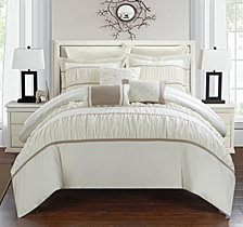 Chic Home Cheryl 10-Pc Queen Comforter Set