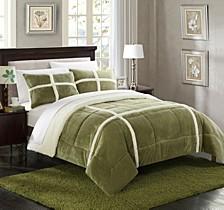 Chloe 3-Pc Queen Comforter Set