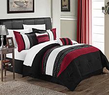 Chic Home Carlton 10-Pc Queen Comforter Set