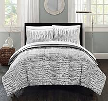 Alligator 3-Pc Queen Comforter Set