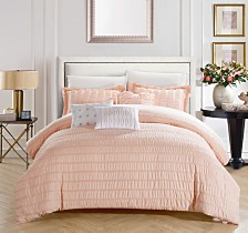 Chic Home Hadassah 6-Pc Queen Comforter Set