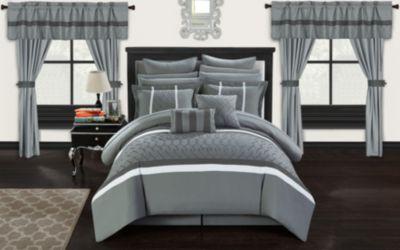 Dinah 24-Pc King Comforter Set