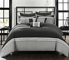 Chic Home Falcon 10-Pc Queen Comforter Set