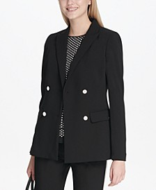Scuba Double-Breasted Jacket