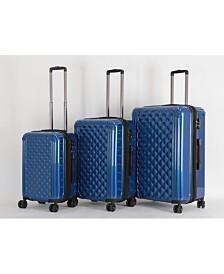 "Triforce Avignon 3pc Set 21""26""30"" Spinner Luggage"