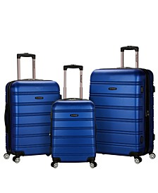 Melbourne 3-Pc. Hardside Luggage Set