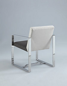 Bella Luna Contemporary Oversized Arm Chair