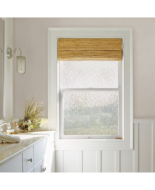 Brewster Home Fashions Pebbles Window Privacy Film