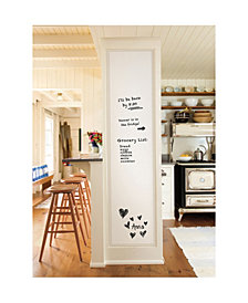 16in X 108in Dry Erase Whiteboard Decal