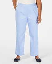 0eaede7364e Alfred Dunner Turtle Cove Plus Size Pull-On Pants