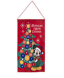 Kurt Adler 19-Inch Fabric Mickey Advent Calendar