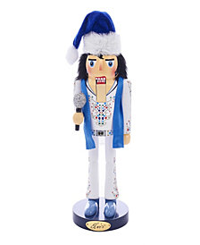 Kurt Adler 11 Inch Elvis King of Spades Nutcracker