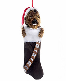 Kurt Adler 20-Inch Chewbacca Plush Head Stocking
