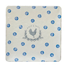 Certified International Urban Farmhouse Square Platter