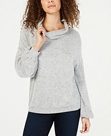 INC Cowlneck Knit Top, Created for Macy's