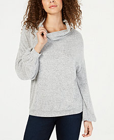 I.N.C. Cowlneck Knit Top, Created for Macy's