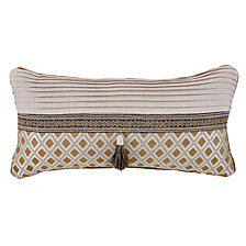 "Croscill Philomena Boudior 22"" x 11"" Decorative Pillow"