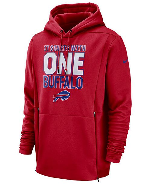 4aaace3f3828 Nike Men s Buffalo Bills Sideline Player Local Therma Hoodie ...