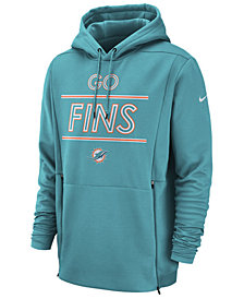 Nike Men's Miami Dolphins Sideline Player Local Therma Hoodie