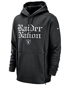Nike Men's Oakland Raiders Sideline Player Local Therma Hoodie