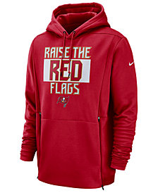 Nike Men's Tampa Bay Buccaneers Sideline Player Local Therma Hoodie