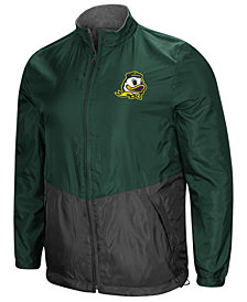 Colosseum Men's Oregon Ducks Halfback Option Reversible Full-Zip Jacket
