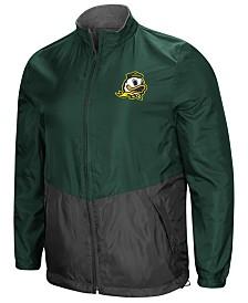 Colosseum Men's Oregon Ducks Halfback Option Reversible Full-Zip Jacket