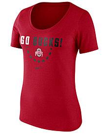 Nike Women's Ohio State Buckeyes Cotton Basketball T-Shirt