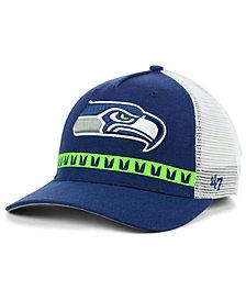 '47 Brand Seattle Seahawks Team Stripe MVP Cap