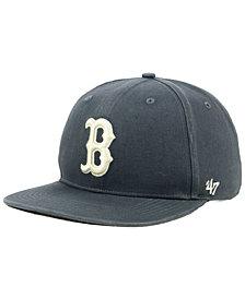 '47 Brand Boston Red Sox Garment Washed Navy Snapback Cap