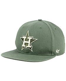'47 Brand Houston Astros Moss Snapback Cap