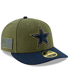 New Era Dallas Cowboys Salute To Service Low Profile 59FIFTY Fitted Cap 2018