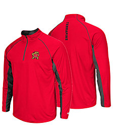 Colosseum Men's Maryland Terrapins Rival Quarter-Zip Pullover
