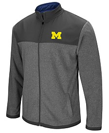 Colosseum Men's Michigan Wolverines Full-Zip Fleece Jacket