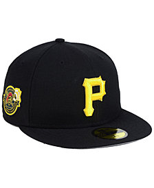New Era Pittsburgh Pirates Trophy Patch 59FIFTY FITTED Cap