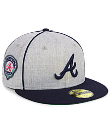 New Era Atlanta Braves Stache 59FIFTY FITTED Cap