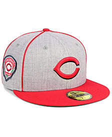 New Era Cincinnati Reds Stache 59FIFTY FITTED Cap