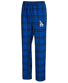 Concepts Sport Men's Los Angeles Dodgers Homestretch Flannel Pajama Pants
