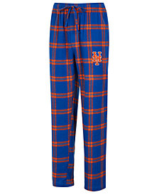 Concepts Sport Men's New York Mets Homestretch Flannel Pajama Pants