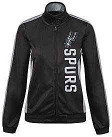 Women's San Antonio Spurs Backfield Track Jacket