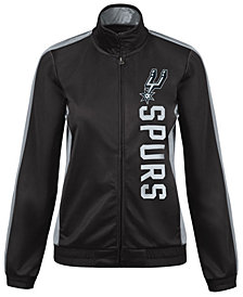 G-III Sports Women's San Antonio Spurs Backfield Track Jacket