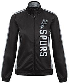 G-III Sports Women's San Antonio Spurs Backfield Track Jacket