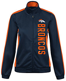 G-III Sports Women's Denver Broncos Backfield Track Jacket