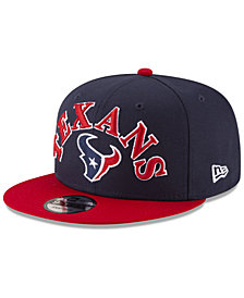 New Era Houston Texans Retro Logo 9FIFTY Snapback Cap