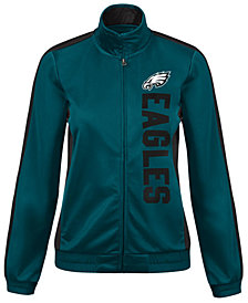 G-III Sports Women's Philadelphia Eagles Backfield Track Jacket