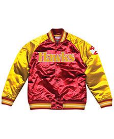 Mitchell & Ness Men's Atlanta Hawks Tough Season Satin Jacket