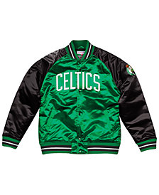 Mitchell & Ness Men's Boston Celtics Tough Season Satin Jacket