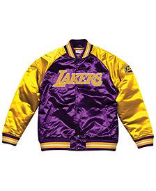 Mitchell & Ness Men's Los Angeles Lakers Tough Season Satin Jacket