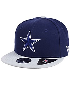 Boys' Dallas Cowboys Two Tone 9FIFTY Snapback Cap